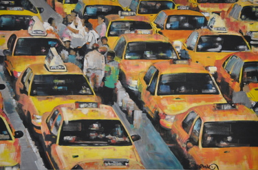 New York Taxi Jam SOLD