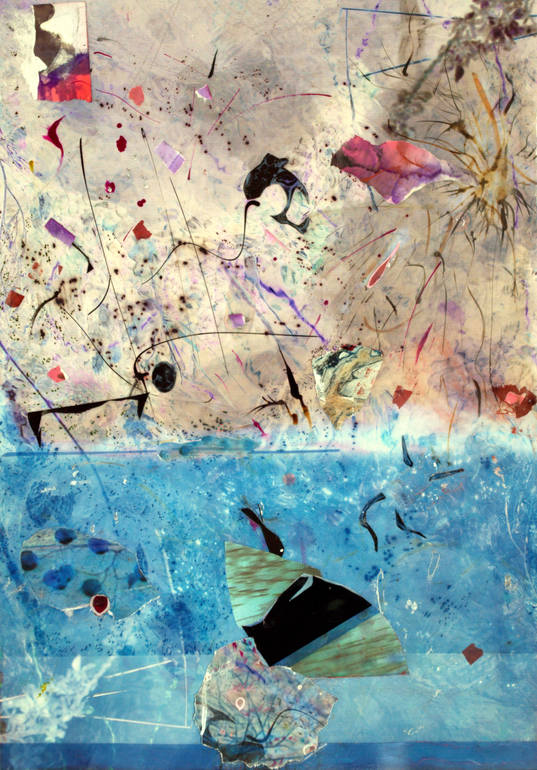 Swim Swing Wing - Monotype SOLD, Irene de buffieres