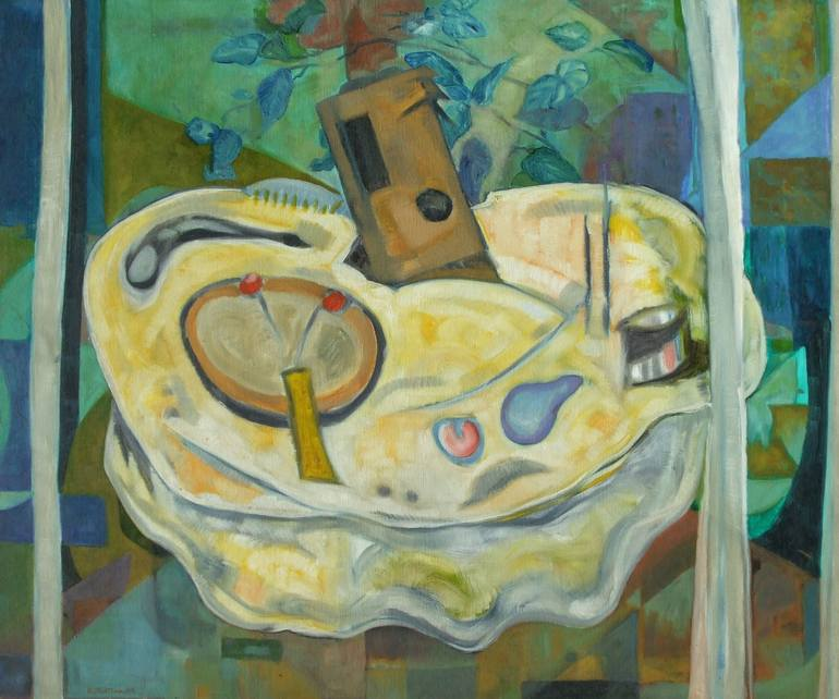 Still life with thermos (2004), Rattan Kumar