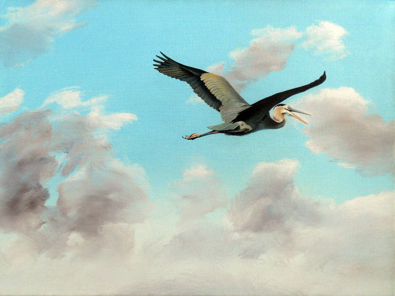 Great Blue Heron, Edward  Joseph