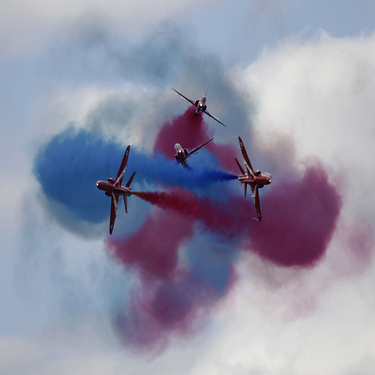 The Red Arrows - Just Passing Through