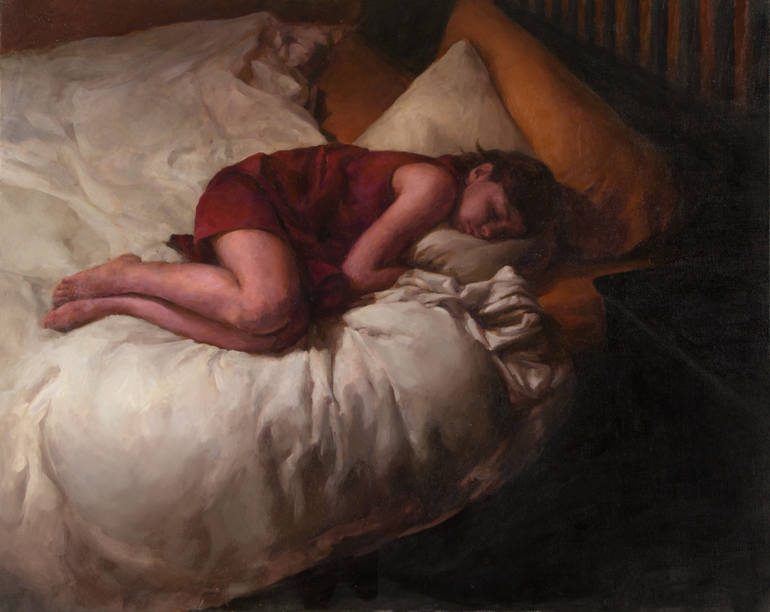 SLEEPING CHILD, Stephanie Deshpande