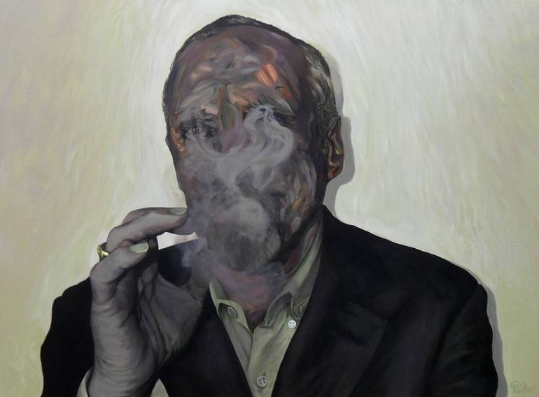 Portrait without Cigar, Russell Oliver