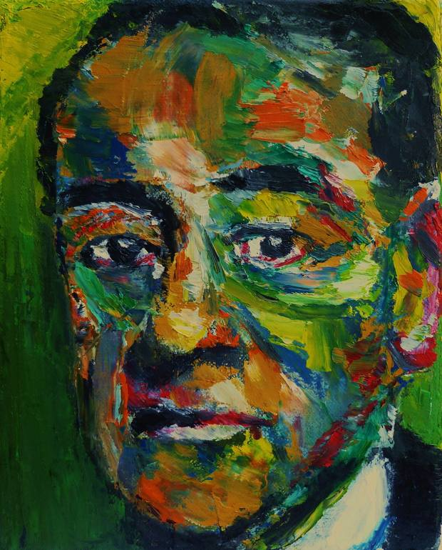 The Face of Max Pechstein, Alan Derwin