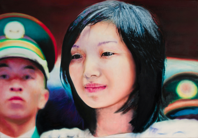 China 1,  2012. Oil on canvas 70x100 cm., Ax Aler