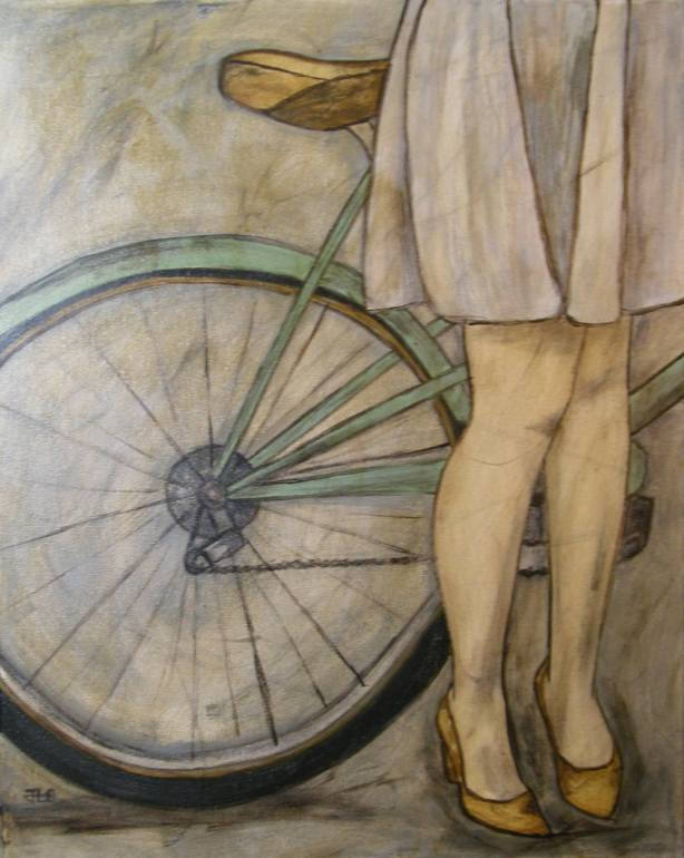 A Girl and Her Bike, Jamie Lutz