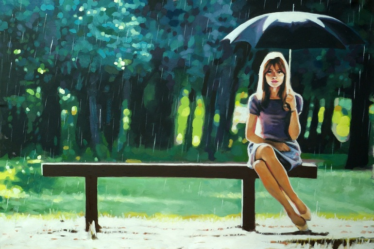 Right as rain(sold), thomas saliot