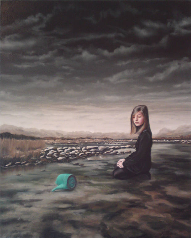 Girl with Watering Can , kyle Barnes