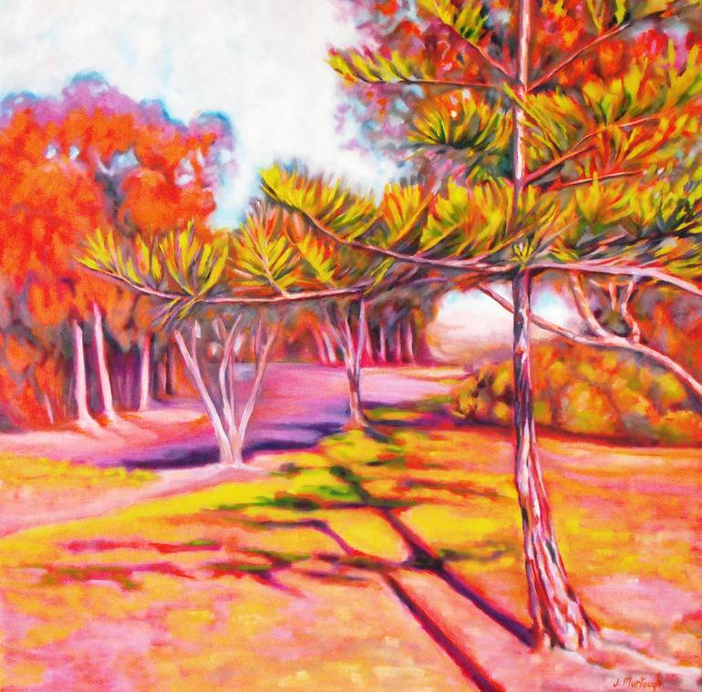 Chasing the Shade - original SOLD, Jacky Murtaugh