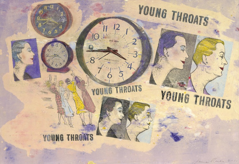 Young Throats - SOLD, Laurie Raskin