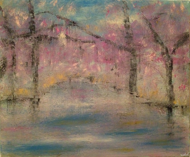 Cherry Blossoms, Heather Baudet