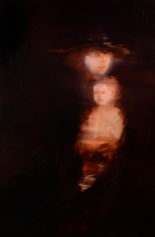 Mother And Child, Maurice Sapiro