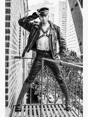 "Saatchi Art Artist TP Dingman; Photography, ""Leather Boys VII"" #art"
