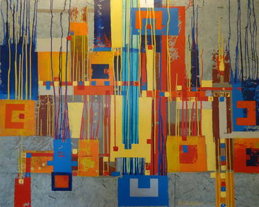 "Saatchi Art Artist Berend Schabus; Painting, ""Connect"" #art"