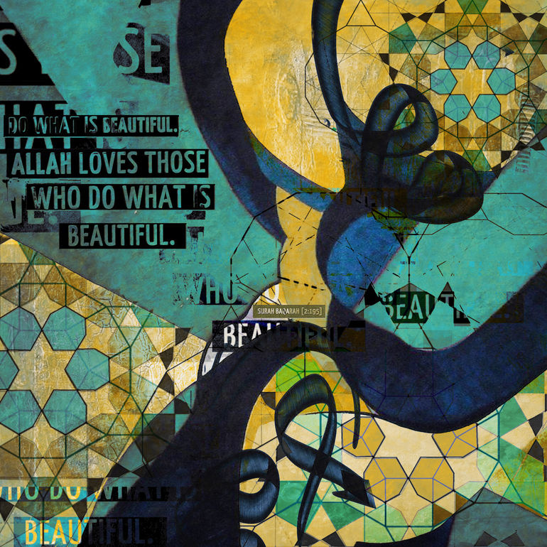 Abstract Art Paintings Abstract Islamic Art 007
