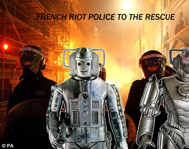 French  Riot Police, Hugh Mooney