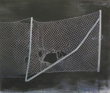 "Saatchi Art Artist Geir Yttervik; Painting, ""Fencing the darkness"" #art"