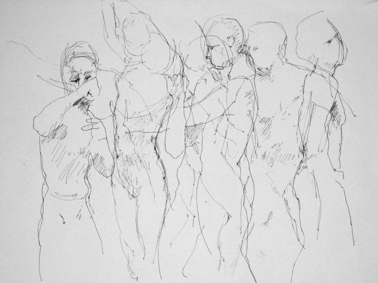 Life drawing 1, donald v melvin