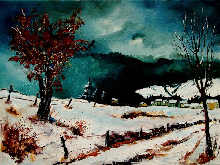 snow in vresse, Pol Ledent