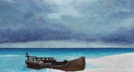 sea ray paint david haley saatchi art